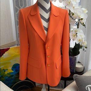 Coral Escada Suit Jacket